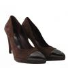 Sapatos em Camurça Castanhos