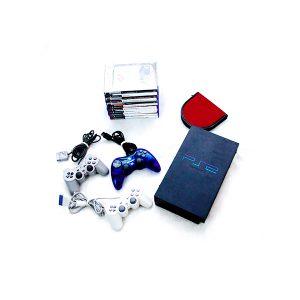 Conjunto de PS 2 com 19 Jogos