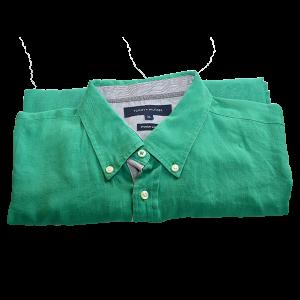 Camisa Verde Tommy Hilfiger
