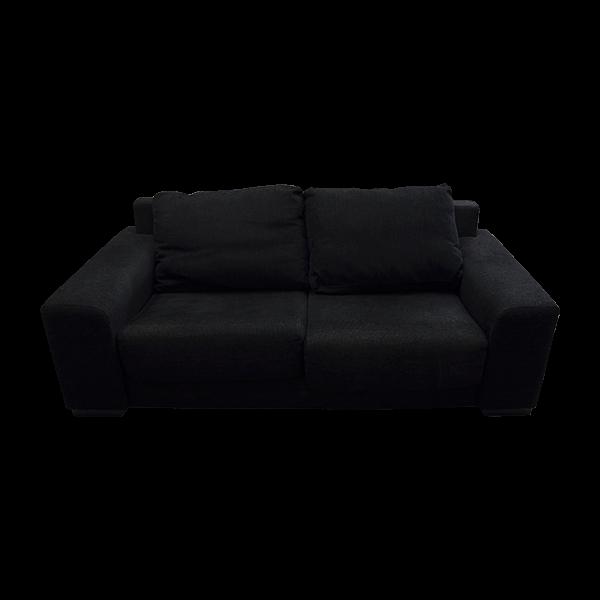 Sofá em Tecido Preto